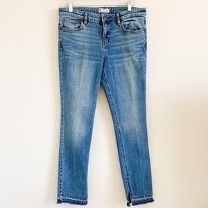 FREE PEOPLE Kentucky Raw Hem Skinny Jeans W31